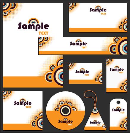 Letterhead template design 2 Vector