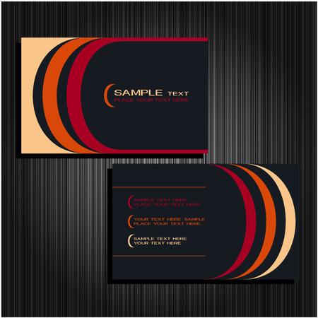 business cards set 22