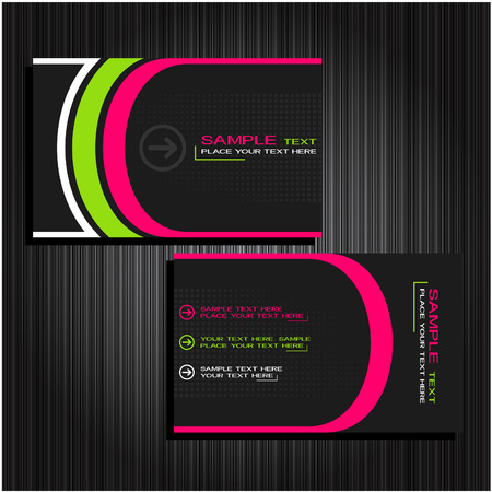 business cards set 23