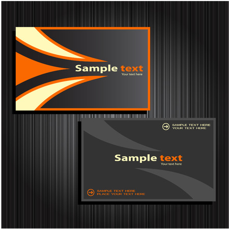 business cards set 31 Vector