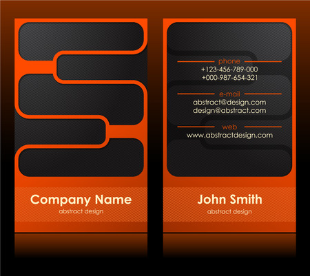 business card 40 Illustration