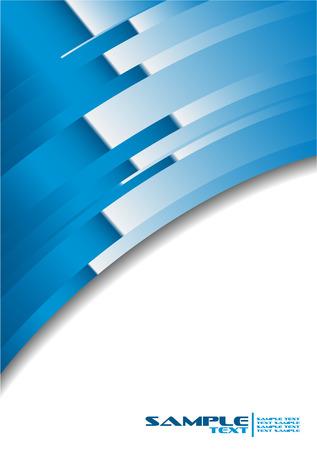 informe comercial: Banner abstracta 4  Vectores
