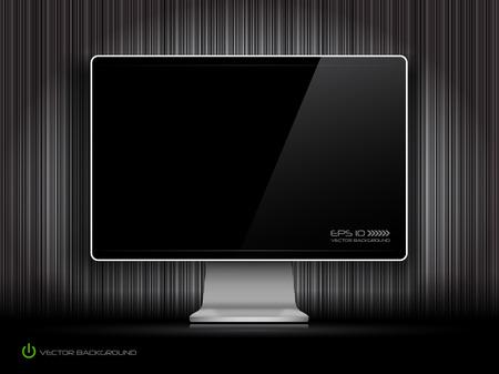 lcd: digital LCD monitor