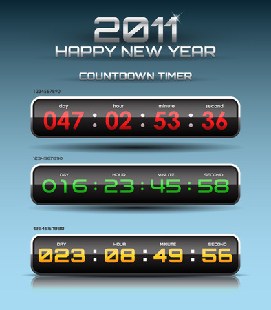 countdown timer Stock Vector - 8193463