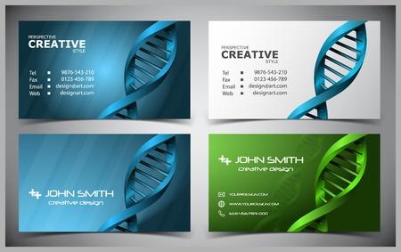 abstractos tarjetas de visita creativas (modelo establecido)