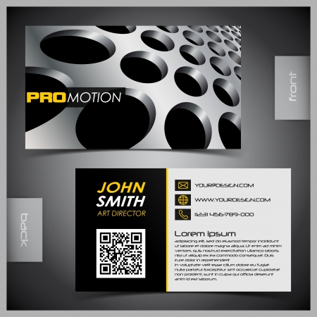 abstract creative business cards (set template) Vettoriali