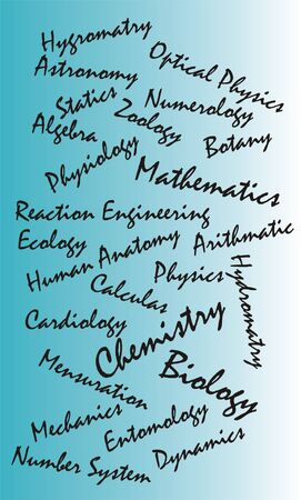 A collage of science related subjects...#01