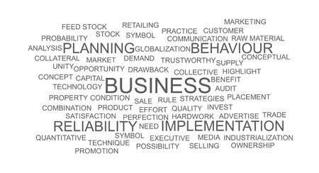 Business wordcloud