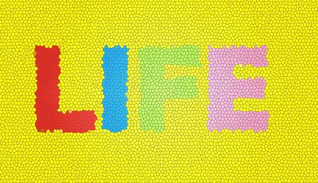 Life background texture Stock Photo
