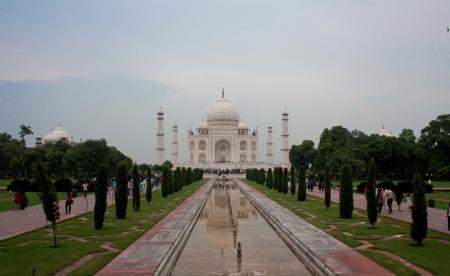 journalistic: Taj Mahal - Agra - India