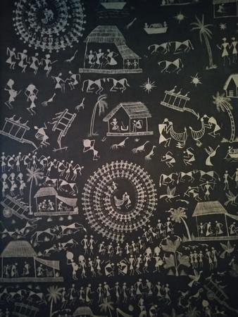 Artwork of Bengal Stock Photo - 121150075