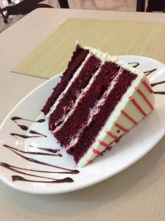 terciopelo rojo: Delicioso pastel de terciopelo rojo