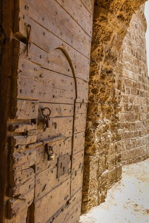 Entrance Gate into Othello Tower- Citadel in Medieval Famagusta, Cyprus