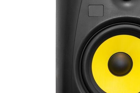 High quality professional loudspeaker for hifi sound system and recording studio. Stock Photo
