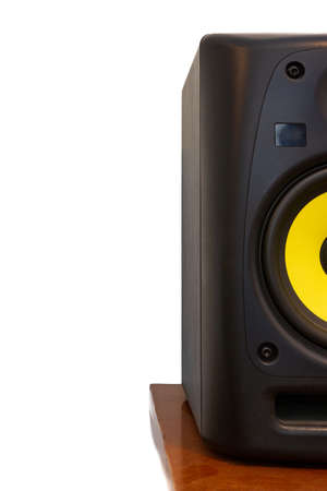 High quality professional loudspeaker for hifi sound system and recording studio. Stok Fotoğraf