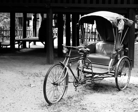 tricycle: thai tricycle Stock Photo