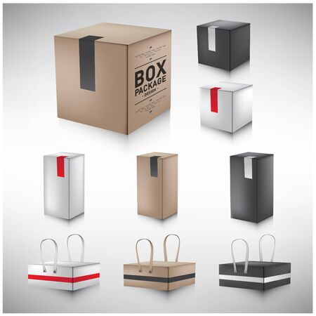 package design: Box  package Design