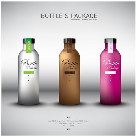 Bottle Design Illustration