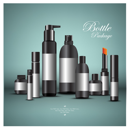 tipple: cosmetic set design for advertising