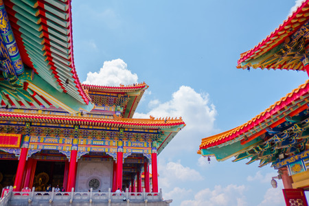 Chinese Temple Style for Advertising Stock Photo