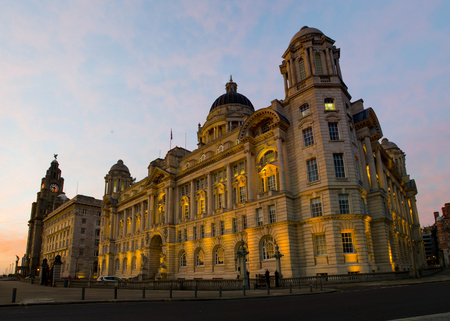 Port of Liverpool building on Liverpool waterfront