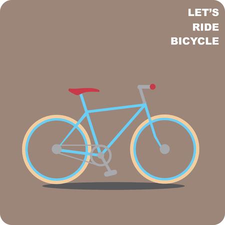 bike vector: Ciudad moto vectorial Vectores