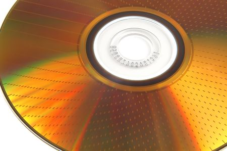DVD-RAM texture isolated on a white background