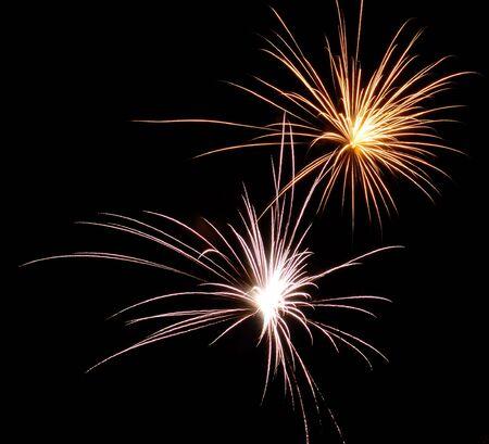 Fireworks Sparkler taken on silvester New Year