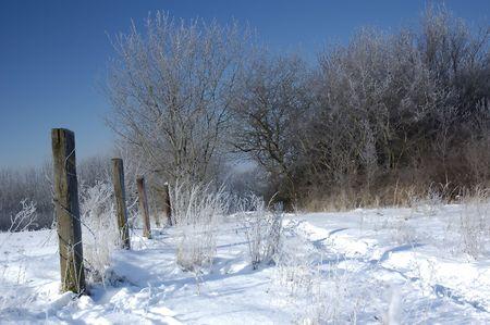 Winter scenery in December, slovakia Stock Photo - 1140358
