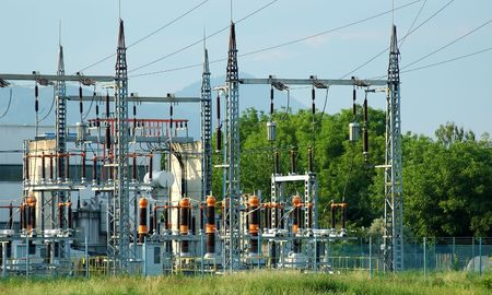 sub station: Power station for electrical Industry