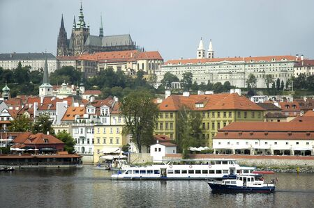 A view of the Prague Castle