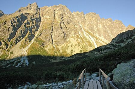 slovak: High Tatras Mountains picturesque scenery