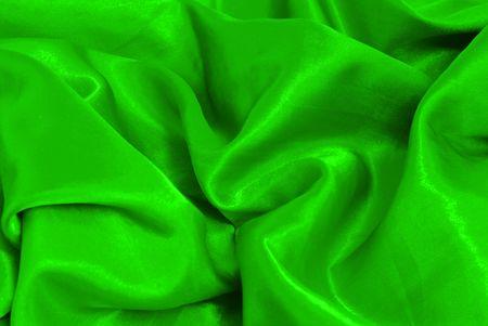 sateen: Christmas green sateen abstract decoration