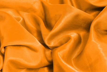 sateen: Christmas orange sateen abstract decoration