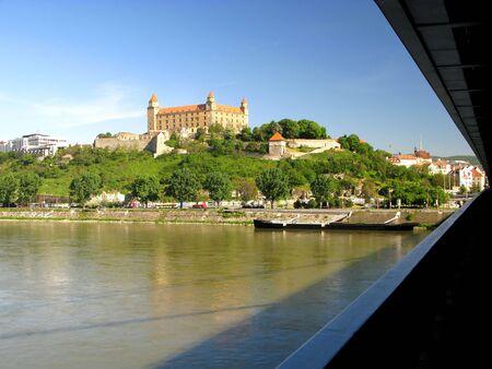 Old castle in Bratislava, Slovakia