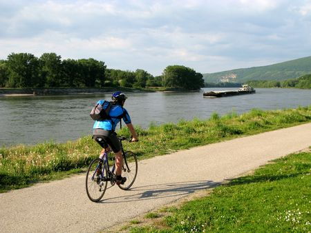 Road Cyclist in the country on a summer day Stock Photo - 3063340