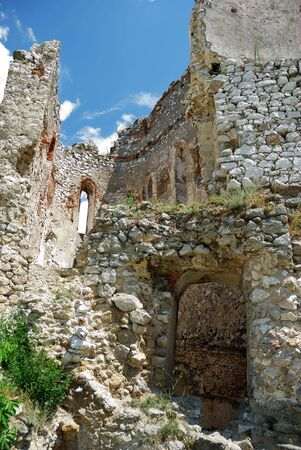 The picture of Cachtice ruins, Slovakia photo