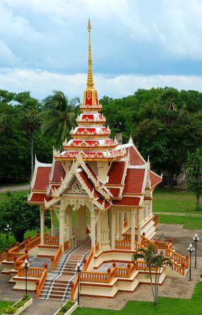 chalong: Wat Chalong temple near Phuket Thailand Stock Photo