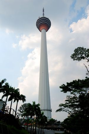 View of TV tower, the highest TV tower in the world
