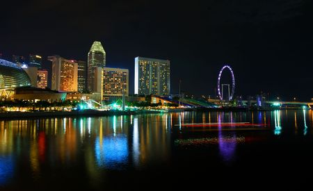 Singapore flyer, largest observation wheel in the world