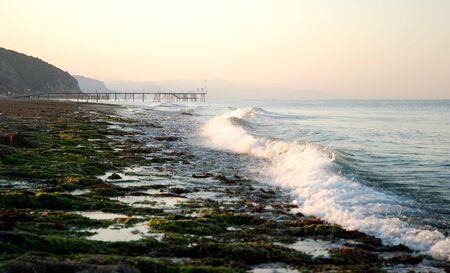 fimbriae: View of the beach in Turkey