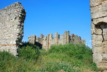 Greek and Roman Ruins at Perge, Turkey Stock Photo - 4170518
