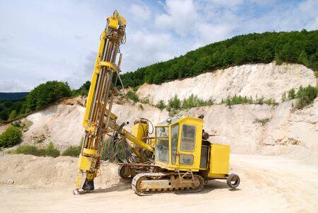 Excavator on a working platform Stock Photo - 4254469