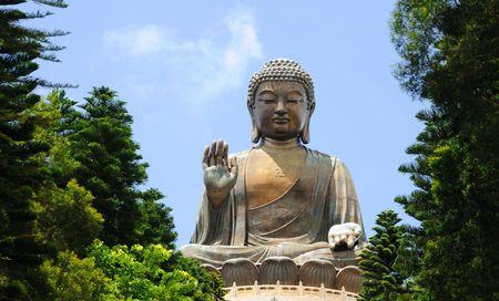 Giant BuddhaPo Lin Monastery in Hong Kong