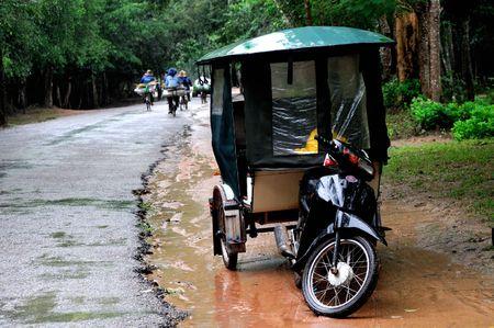 Tuk Tuk - popular transportation in Asia  photo