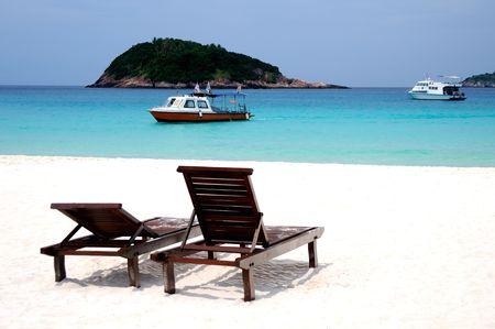 lang: Redang Lang Tengah Beach at Malaysia