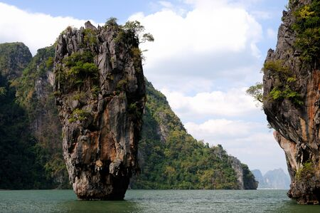 James Bond Island, Phang Nga, Thailand Stock Photo - 7969261