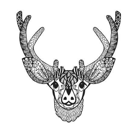 baby deer: stylized baby deer Sketch for avatar