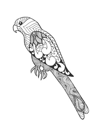 coloring pages to print: Parrot