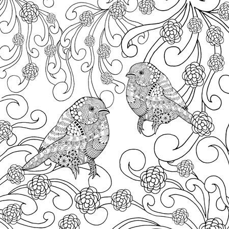 La Página De Aves Para Colorear Fotos, Retratos, Imágenes Y ...
